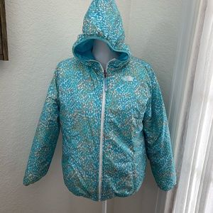 The North Face reversible puffer jacket Girls XL